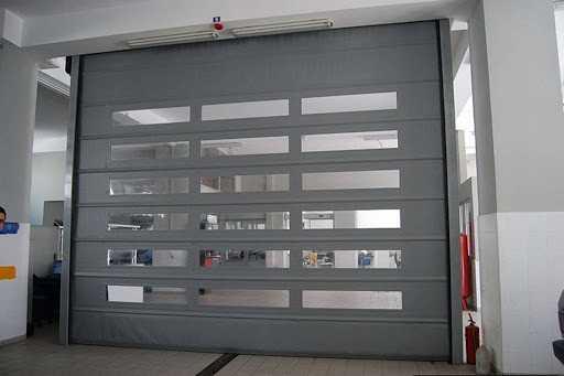 Hızlı PVC (Branda) Katlanır Kapı10