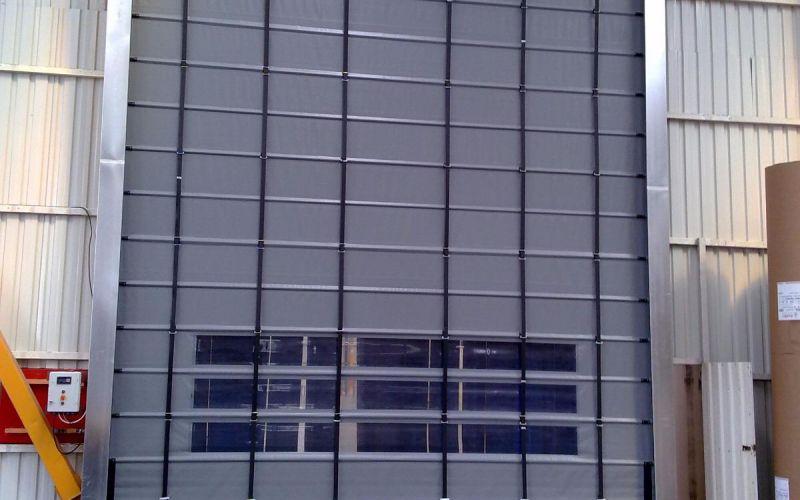 Hızlı PVC (Branda) Katlanır Kapı12