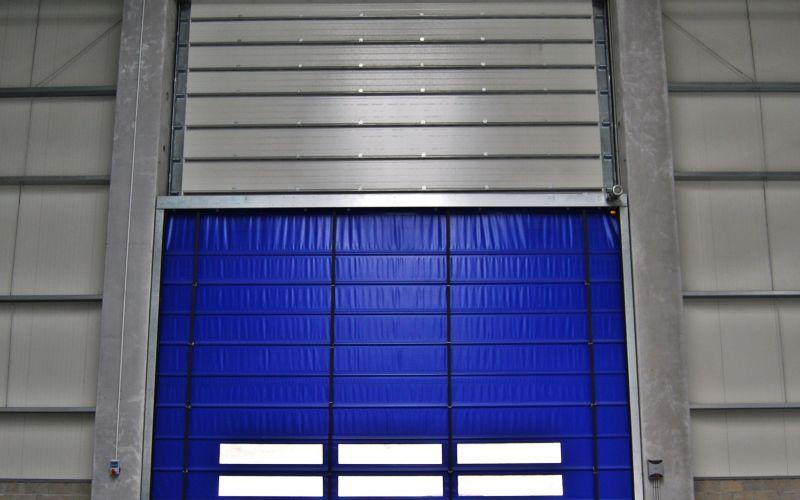 Hızlı PVC (Branda) Katlanır Kapı3