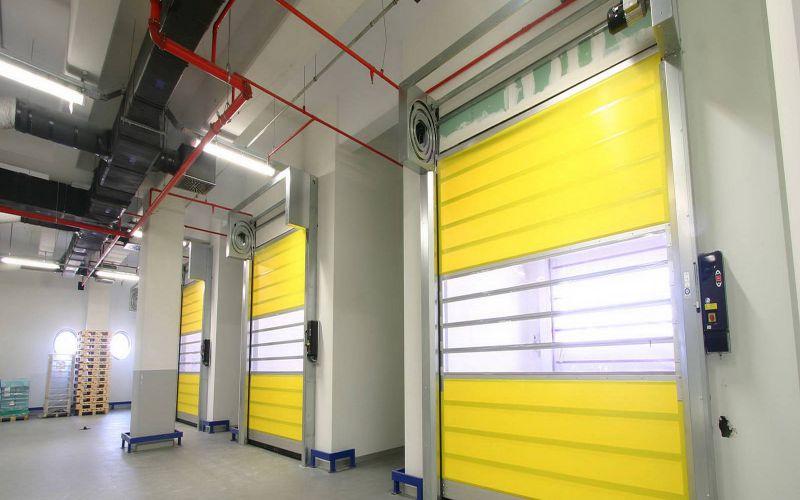Hızlı PVC (Branda) Katlanır Kapı6