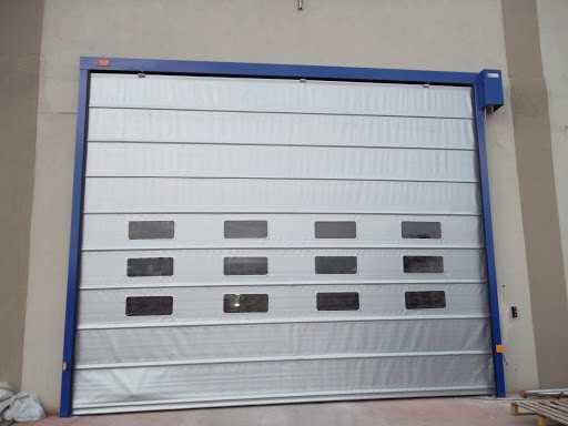 Hızlı PVC (Branda) Katlanır Kapı8