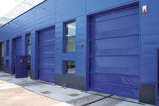 Hızlı PVC (Branda) Katlanır Kapı9