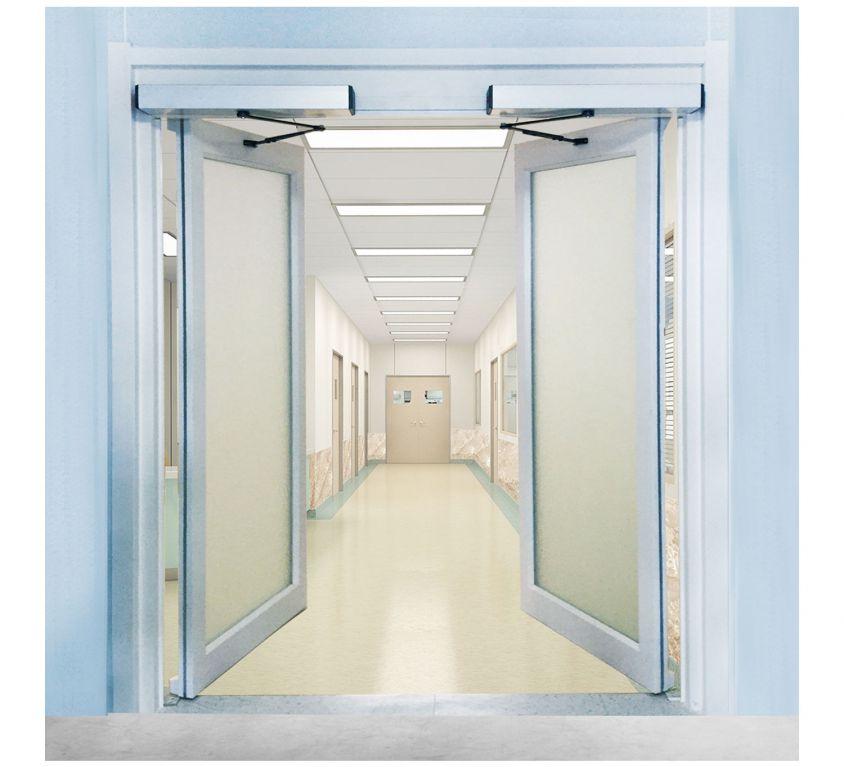 90 Derece Açılır Otomatik Kapı
