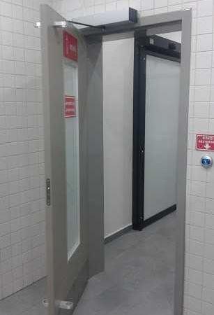 el sensörlü doksan derece otomatik açılır kapı