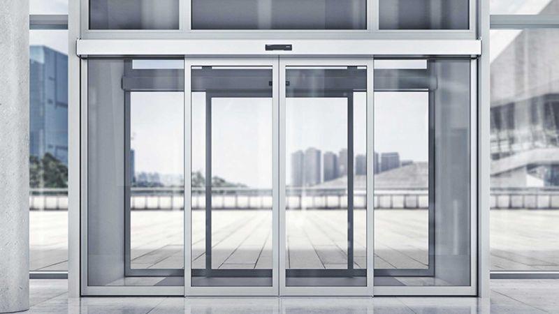 fotoselli kapı otomatik olarak açılan radar sizi algıladığında mekanizmanın kapıyı otomatik olarak açmasını sağlar