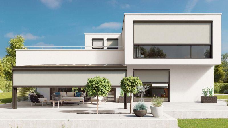 evinizin bahçesine balkonuna terasına rahatlıkla kullanacağınız zip perde hizmeti ile keyif vakti