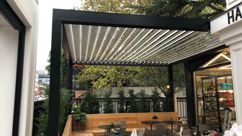 rolling roof için cafe görseli